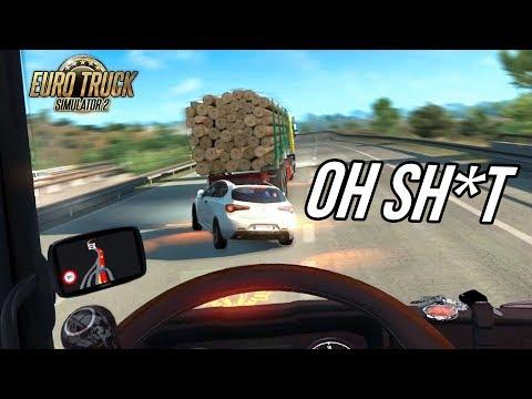 """TRAFFIC JAM and STUPID DRIVERS!""   Euro Truck Simulator 2 - ""TRAFFIC MOD""   gtx 1060 ultra settings"