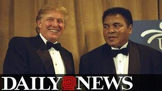 Muhammad Ali Fights Back at Donald Trump's Plan to Ban Muslims
