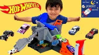 NEW Hot Wheels Cars For Kids Hot Wheels City T-REX Dinosaur Track