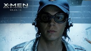 "X-Men: Days of Future Past | ""Quicksilver"" Power Piece [HD] 