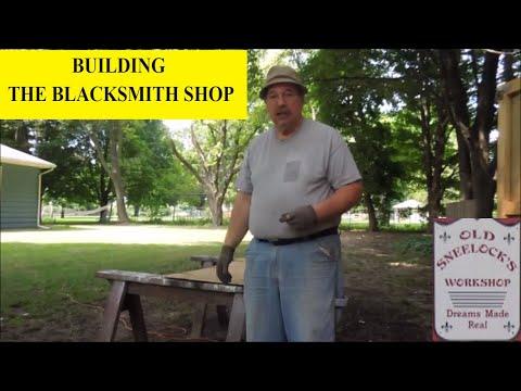 BUILDING THE BLACKSMITH SHOP ~ HIGH SPEED SHELVES