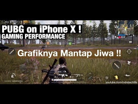 Main PUBG Mobile di iPhone X bareng Satria - RATA KANAN ! (Gameplay) Indonesia