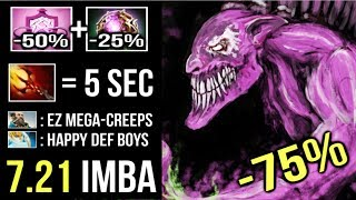 MEGACREEPS -75 CD ALL Skills Dazzle 5s Dagon Crazy Try Hard Comeback Gameplay by Sccc 721 Dota 2