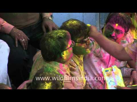 Holi cannot be without colors!