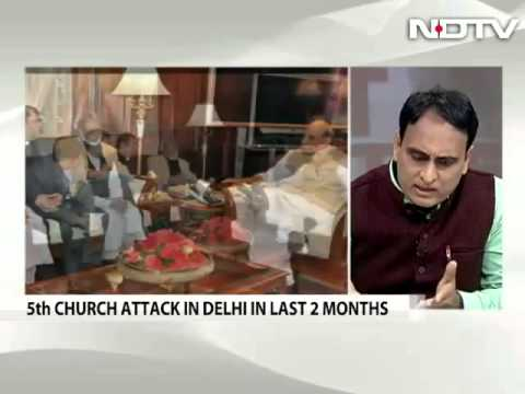 "Alternative Take on Delhi ""Church Vandalism"" and how the media has its own agenda"