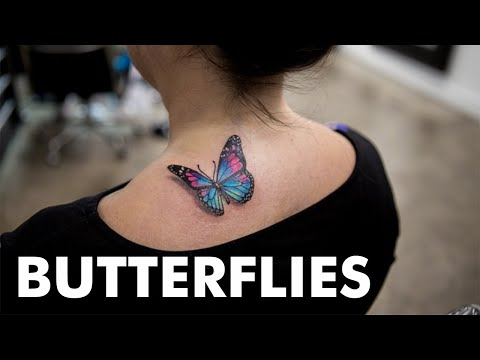 15 Little Butterfly Tattoos