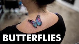 15 Little Butterfly Tattoos