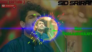 Gambar cover Nee Tholaindhaayo - Sid Sriram - Tamil Hit Songs
