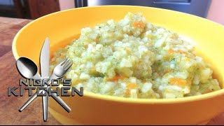 Rice with Vegetables - Baby Food Recipe Thumbnail
