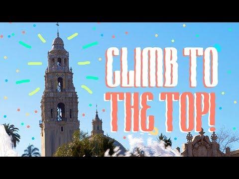 Balboa Park's California Tower – One Bright Idea