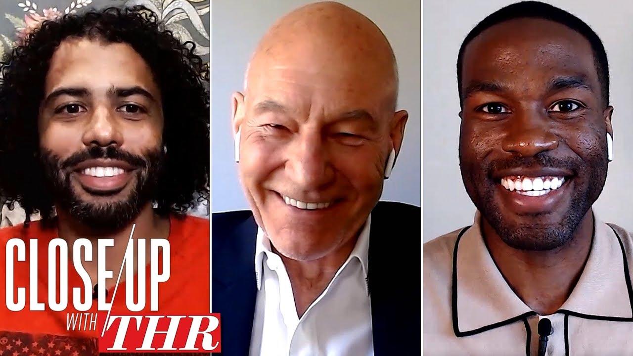 Actors Roundtable: Patrick Stewart, Yahya Abdul-Mateen II, Bob Odenkirk, Daveed Diggs   Close Up