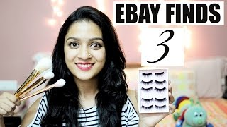 ALIEXPRESS ALTERNATIVE?? EBAY.COM HAUL | CHEAP MAKEUP BRUSHES+FALSIES | EBAY FINDS PART 3