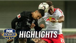 RB Leipzig vs. Eintracht Frankfurt | 2019 Bundesliga Highlights