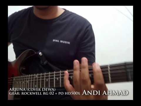 Rockwell Guitar RG02 - Arjuna (cover Dewa by Andi Kurniawan)