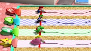 Mario Party 4 - Battle Mode - All Minigame Types