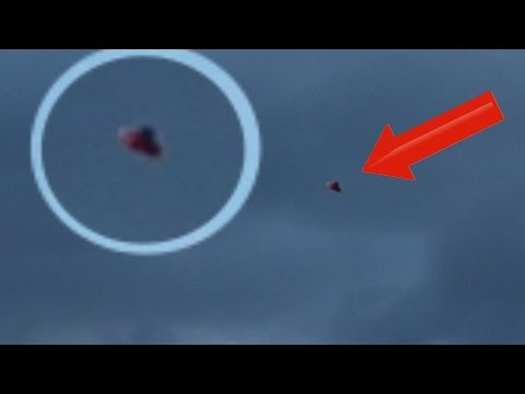 NEW!! Two UFO Sightings [Inter-Dimensional UFO] [Super Fast Red ORB] 11/28/2014