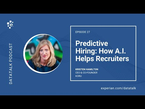 Predictive Hiring: How Artificial Intelligence is Helping Recruiters w/ @Kristen_Hammy