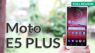 Moto E5 Plus: Full Specifications, Battery & Camera Review