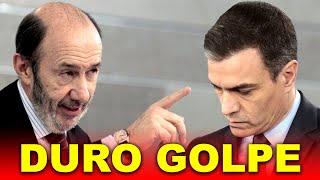 Rubalcaba HUNDE a Pedro Sánchez