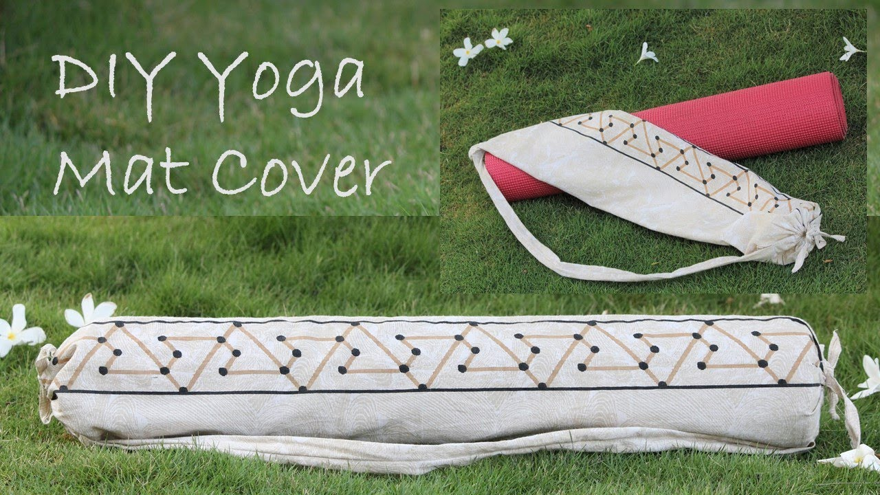 Diy Yoga Mat Cover With Strap 6 Easy Steps Youtube