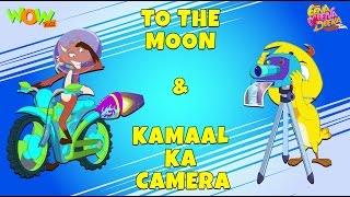 To The Moon | Kamaal Ka Camera - Eena Meena Deeka - Animated cartoon for kids - Non Dialogue