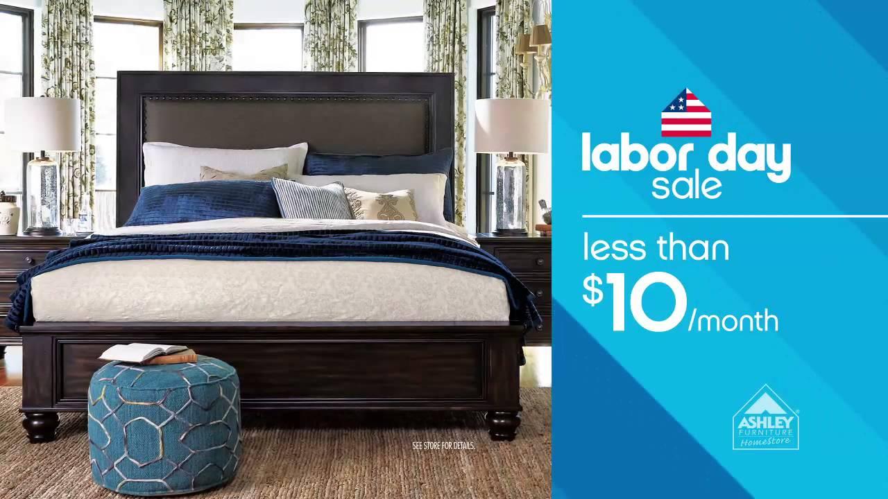Ashley furniture homestore 39 s labor day sale youtube for Labor day sale furniture