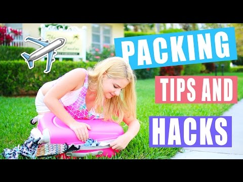 Packing Tips and Hacks: How to Travel Efficiently!