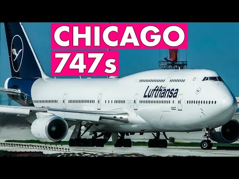 WOW 20 Airlines Still Operate 747 To Chicago!