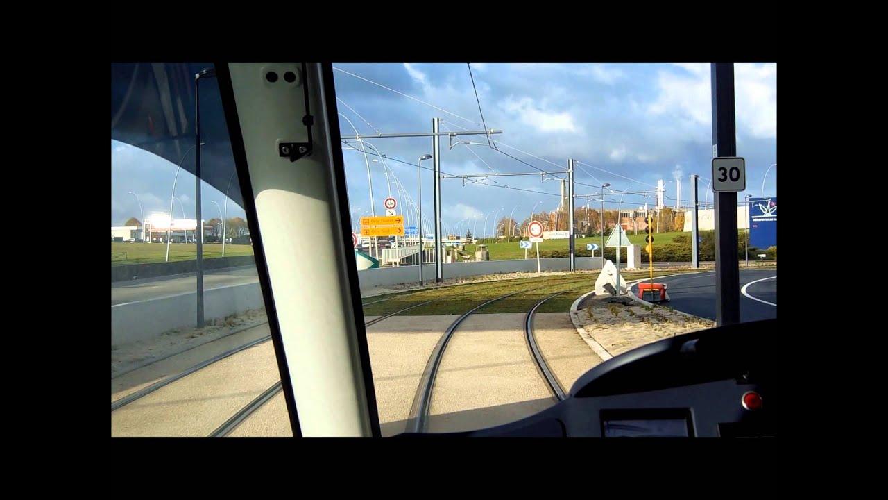 Tramway de paris en cabine du t7 entre porte de l 39 essonne et caroline aigle youtube - Piscine porte de l essonne ...