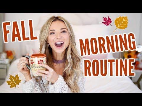 COZY Fall Morning Routine 2017!   Dani Austin