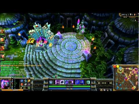 League of Legends - Overlord Malzahar Full Gameplay