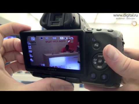 Видеообзор фотокамер Sony Alpha A33L и A55VL