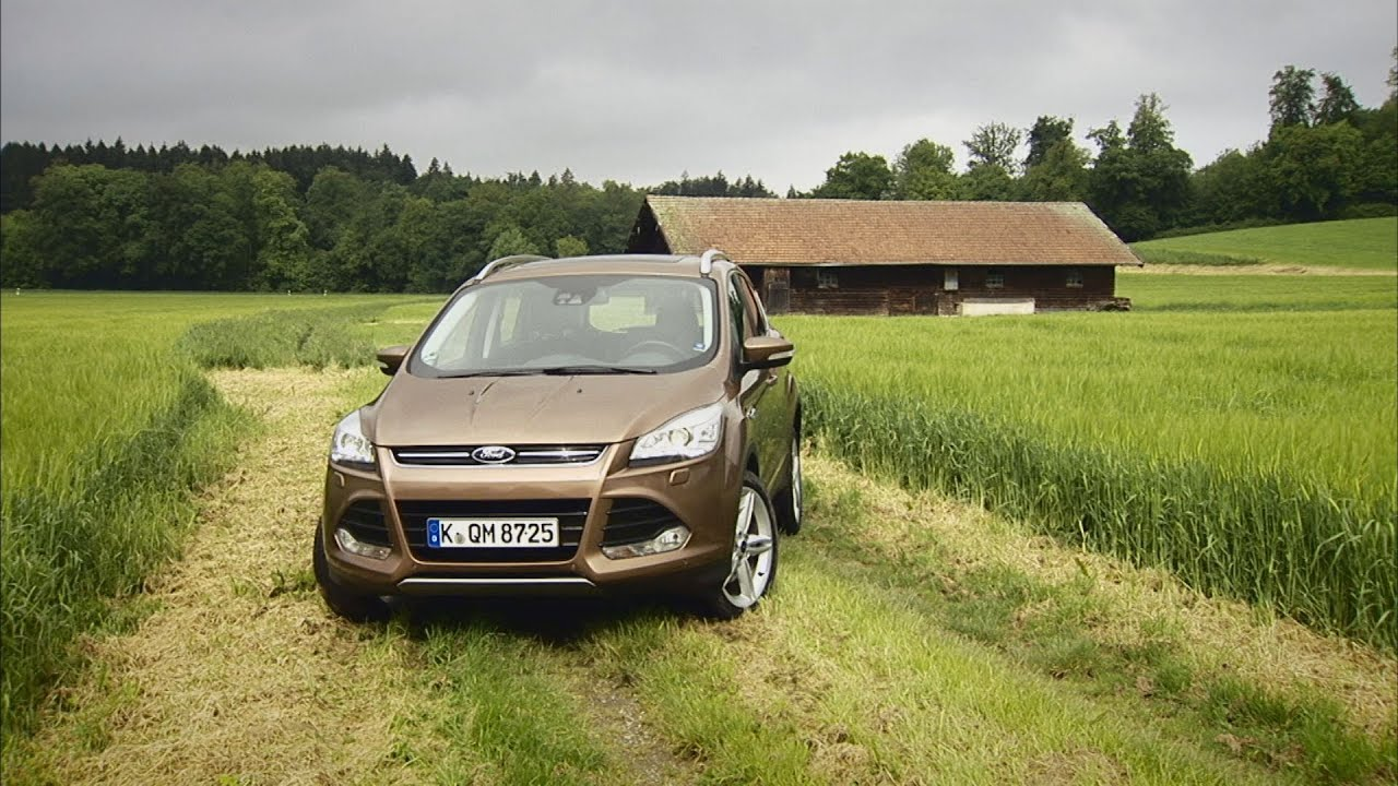 ford kuga im test autotest 2013 adac youtube. Black Bedroom Furniture Sets. Home Design Ideas