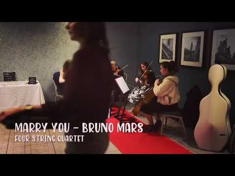 Four String Quartet - Marry You Bruno Mars (sample)