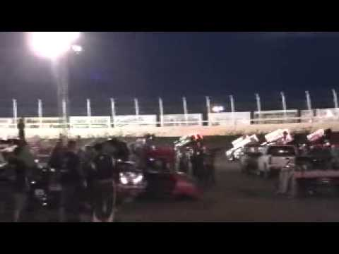May 25, 2014 Huset's Speedway 'B' Main (Part 1 of 2)