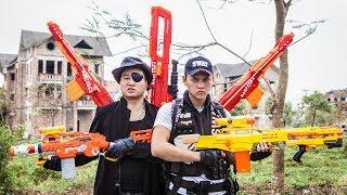 LTT Nerf War : SEAL X Warriors Nerf Guns Fight Criminal Group Dr Lee Thief Diamond