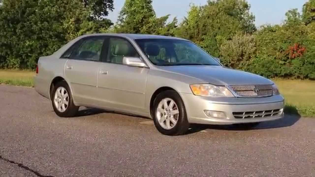 2002 Toyota Avalon XLS For Sale~Leather~Moon Roof~Alloys~Heated  Seats~AWESOME