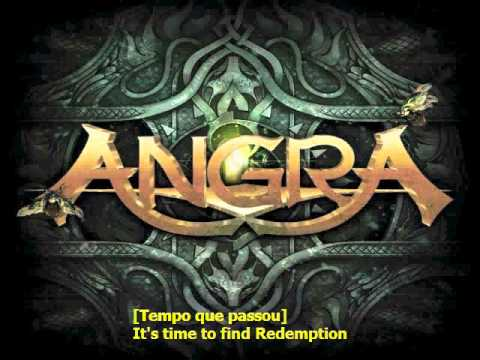 Angra Late Redemption karaoke.avi