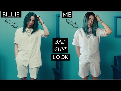 "BILLIE EILISH TRANSFORMATION (FROM ""BAD GUY"" MUSIC VIDEO)"