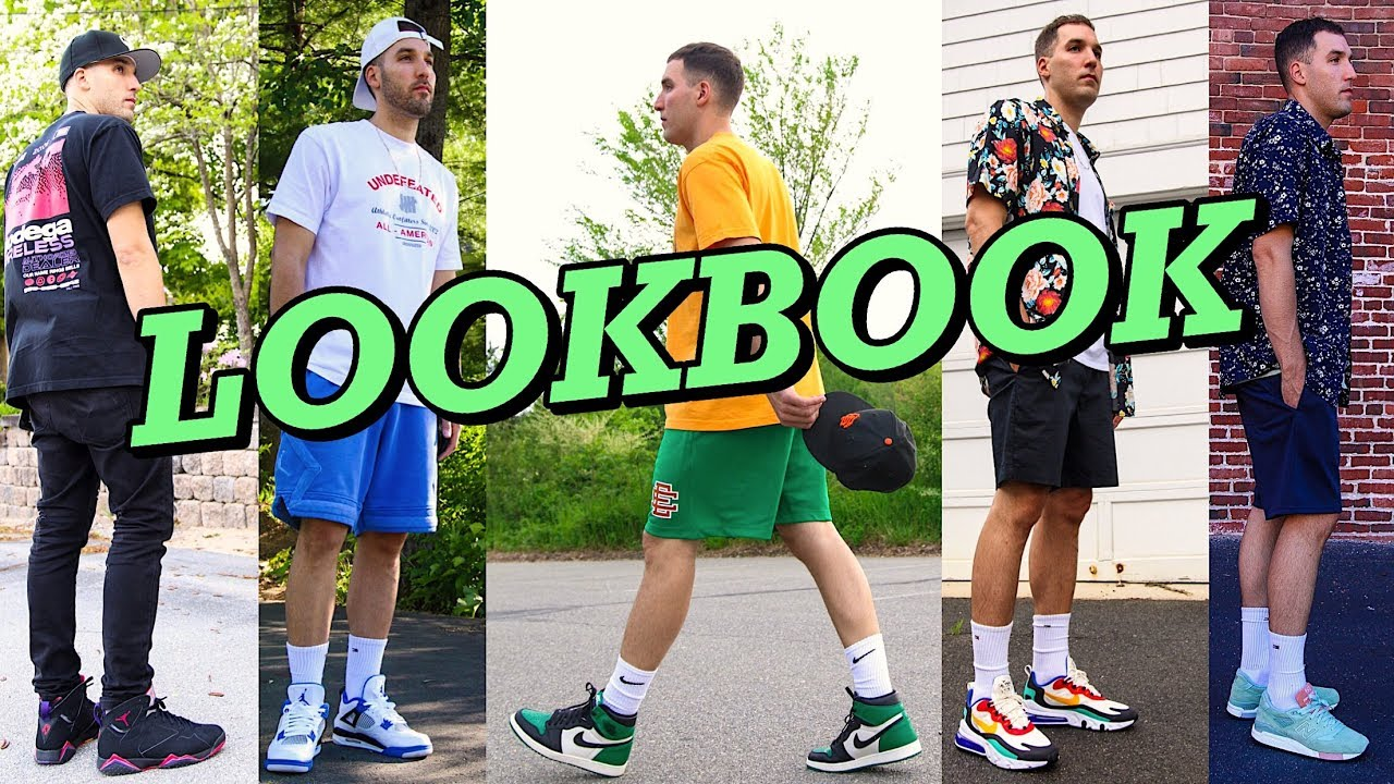 SUMMER LOOKBOOK – HOW TO STYLE SNEAKERS IN THE SUMMER