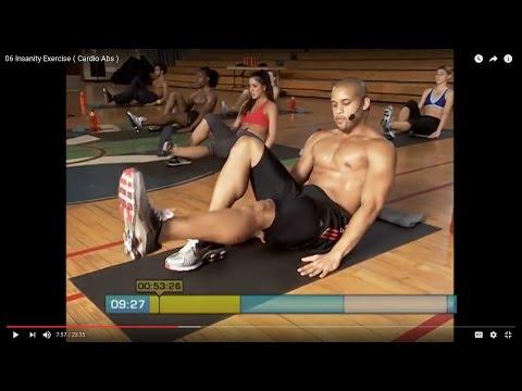 06 Insanity Exercise ( Cardio Abs. )