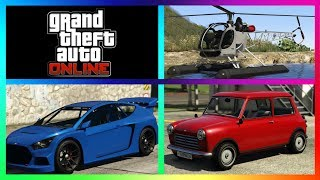 GTA 5 Online New DLC CARS VAPID FLASH GT, WEENI ISSY CLASIC, SEA SPARROW COME JOIN IN