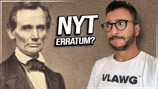 Brett Kavanaugh, Abraham Lincoln, & the Decline of the New York Times - Viva Frei Vlawg