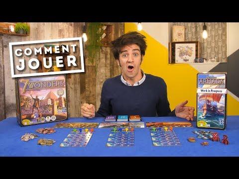 Comment jouer à 7 Wonders Armada