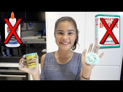 Testing No Glue or Borax Slime   Grace's Room