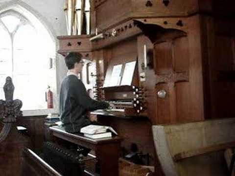 Tetris Theme on Church Organ during Service