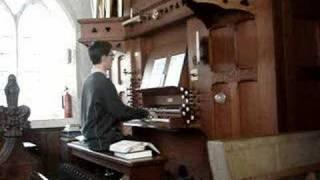 Tetris Theme on Church Organ during Service