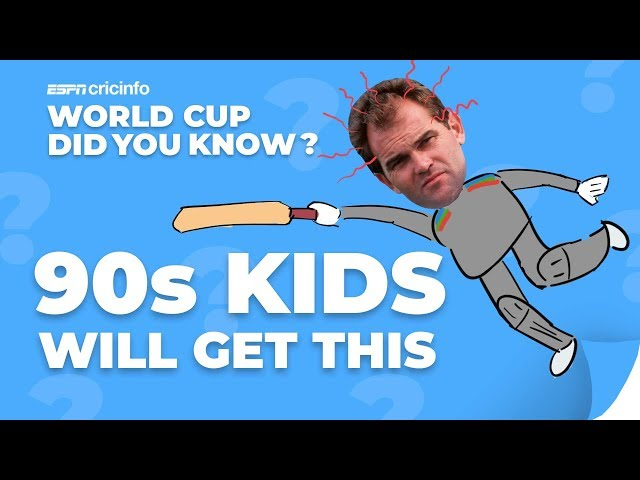 Martin Crowe Runs Out of Luck  | Did You Know