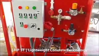 HP 5T Lightweight Concrete Production Machine