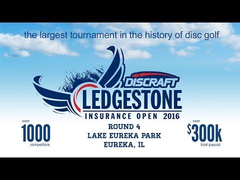 2016 Ledgestone Open presented by Discraft - Round 1 -McBeth, Doss, Leiviska, Finn